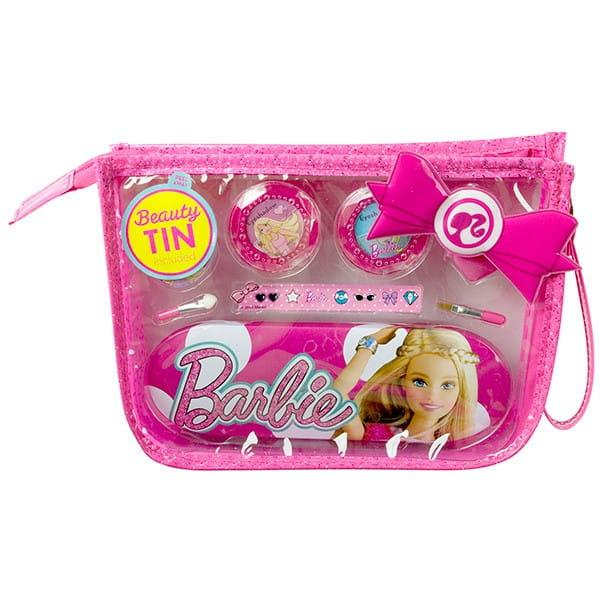 Купить Набор детской декоративной косметики Markwins Barbie в сумочке в интернет магазине игрушек и детских товаров