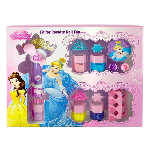 Купить Набор детской декоративной косметики Markwins Princess с феном для сушки лака в интернет магазине игрушек и детских товаров