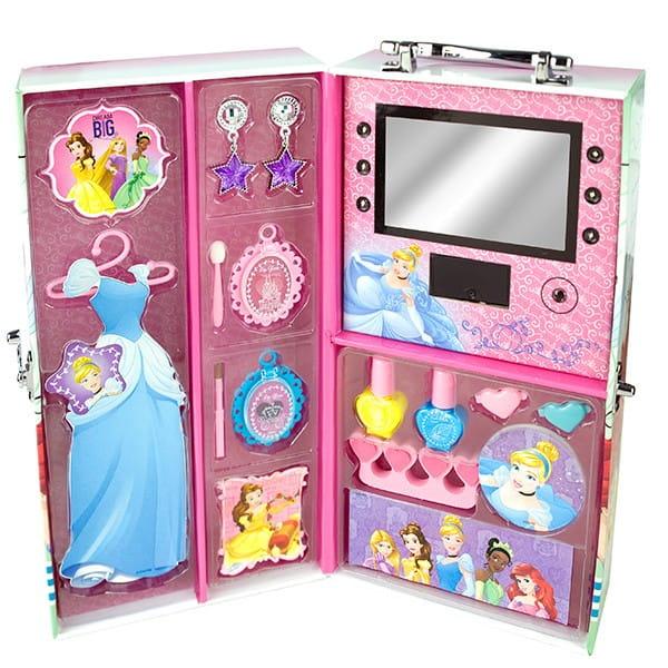 Купить Набор детской декоративной косметики Markwins Princess в чемоданчике с подсветкой в интернет магазине игрушек и детских товаров