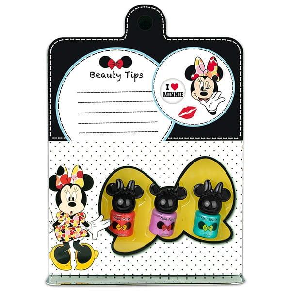 Купить Набор детской декоративной косметики Markwins Minnie для ногтей 2 в интернет магазине игрушек и детских товаров