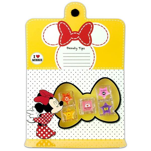 Купить Набор детской декоративной косметики Markwins Minnie для губ 2 в интернет магазине игрушек и детских товаров