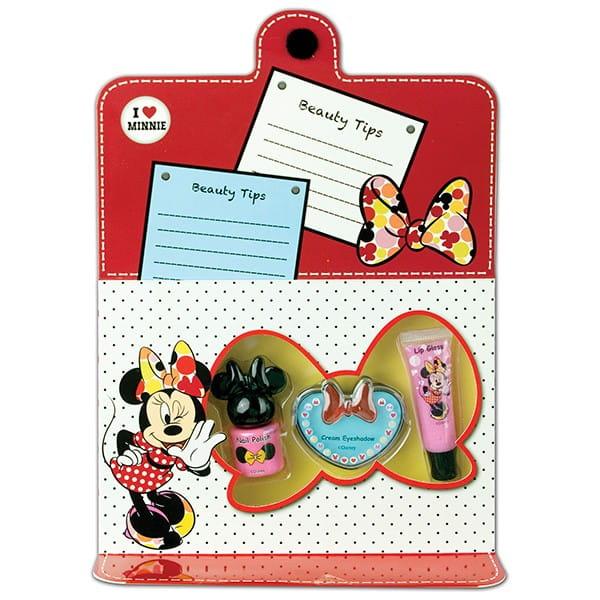 Купить Набор детской декоративной косметики Markwins Minnie для лица и ногтей в интернет магазине игрушек и детских товаров