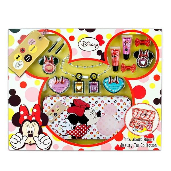 Купить Набор детской декоративной косметики Markwins Minnie с пеналом в интернет магазине игрушек и детских товаров