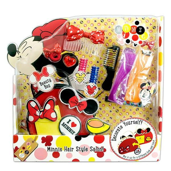 Купить Набор детской декоративной косметики Markwins Minnie для волос в интернет магазине игрушек и детских товаров