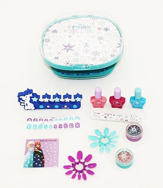 Набор детской декоративной косметики Markwins Frozen с сушкой лака