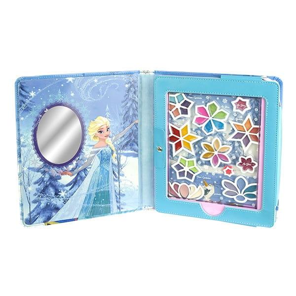 Набор детской декоративной косметики Markwins Frozen в чехле для планшета