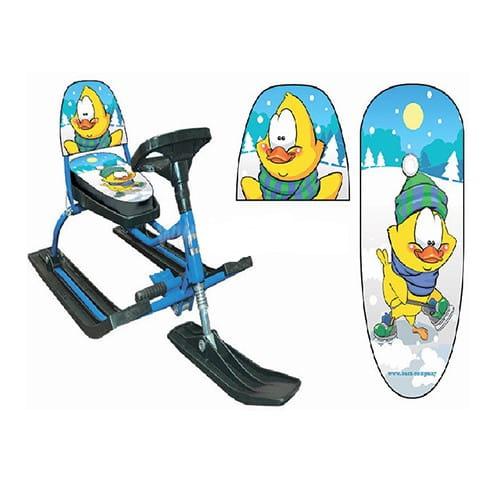 Купить Снегокат Барс Комфорт Дак в интернет магазине игрушек и детских товаров