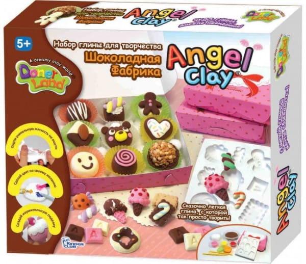 Масса для лепки Angel Clay Шоколадная мастерская