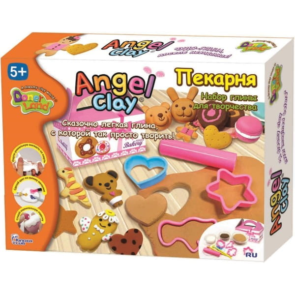 Масса для лепки Angel Clay АА10121 Пекарня