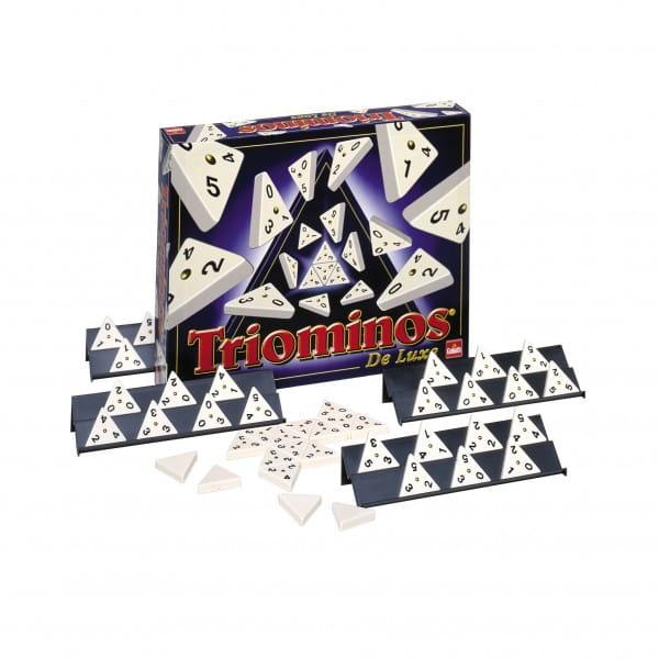 Купить Настольная игра Goliath Triominos De luxe в интернет магазине игрушек и детских товаров