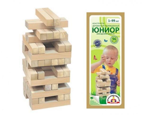 Деревянный конструктор Краснокамская игрушка Юниор