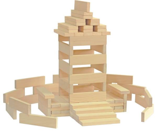 Купить Деревянный конструктор Краснокамская игрушка Брусочки строительные в интернет магазине игрушек и детских товаров