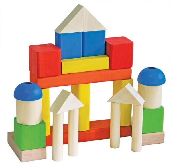 Деревянный конструктор Краснокамская игрушка Малыш