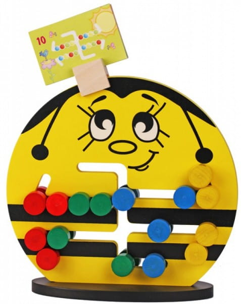 Логическая игра Краснокамская игрушка ЛИ-04 Пчелка