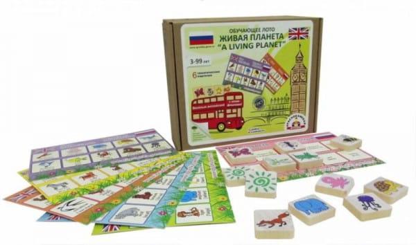 Логическая игра Краснокамская игрушка ЛИ-06 Живая планета - английский язык