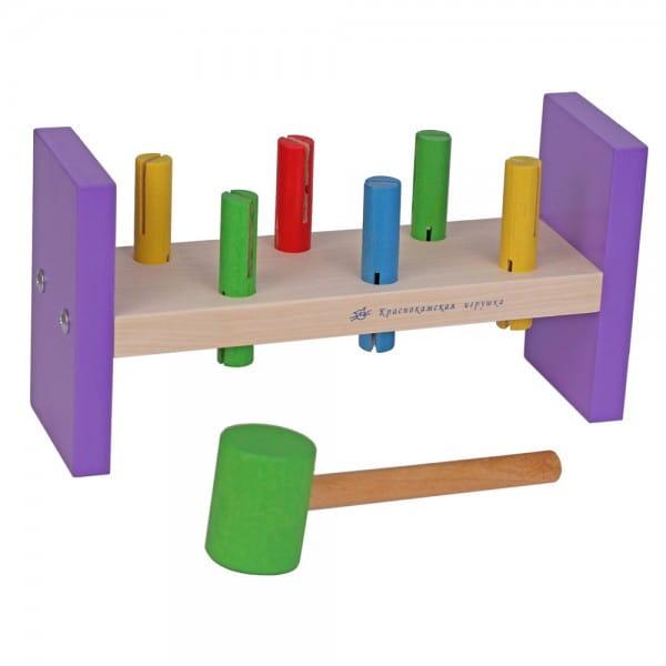 Игровой набор Краснокамская игрушка Стучалка