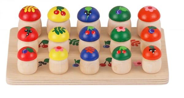 Игровой набор Краснокамская игрушка Н-04 Грибочки