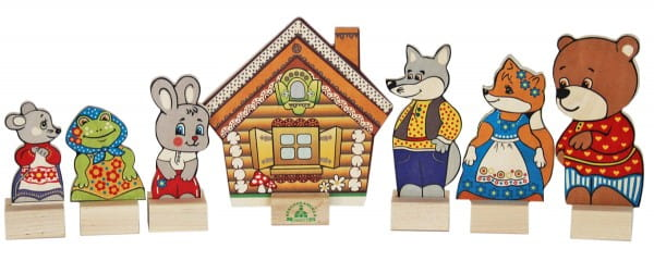 Игровой набор Краснокамская игрушка Н-10 Теремок
