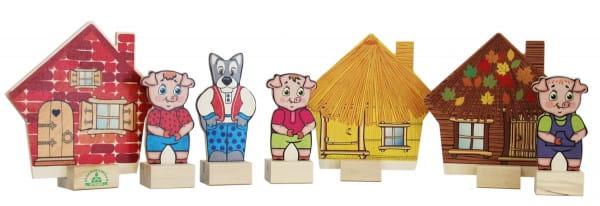 Игровой набор Краснокамская игрушка Н-11 Три поросенка