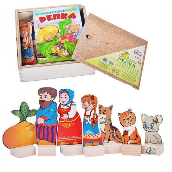 Купить Игровой набор Краснокамская игрушка Репка в интернет магазине игрушек и детских товаров