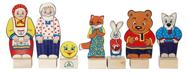 Игровой набор Краснокамская игрушка Колобок