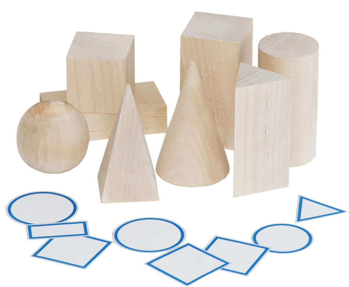 Игровой набор Краснокамская игрушка Геометрические тела