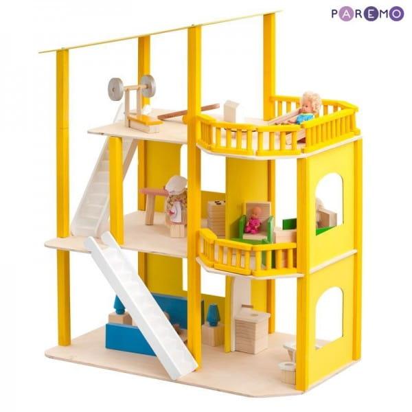 Кукольный домик Paremo Солнечная Ривьера