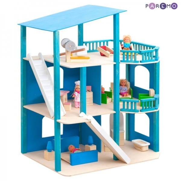 Кукольный домик Paremo Лазурный берег