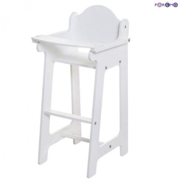 Купить Стульчик для кормления Paremo - белый в интернет магазине игрушек и детских товаров