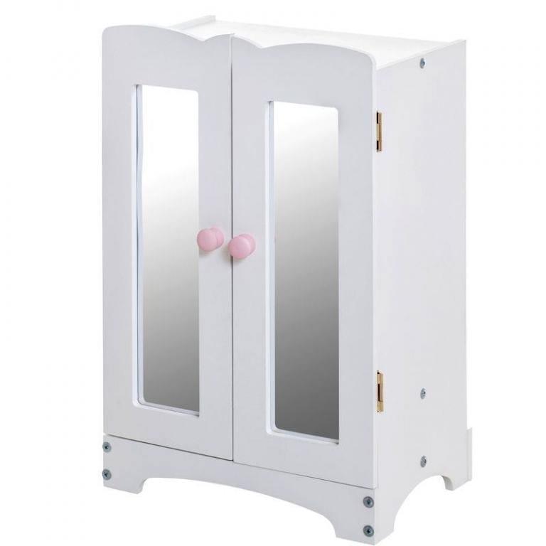 Кукольный шкаф Paremo PFD116-06 - белый