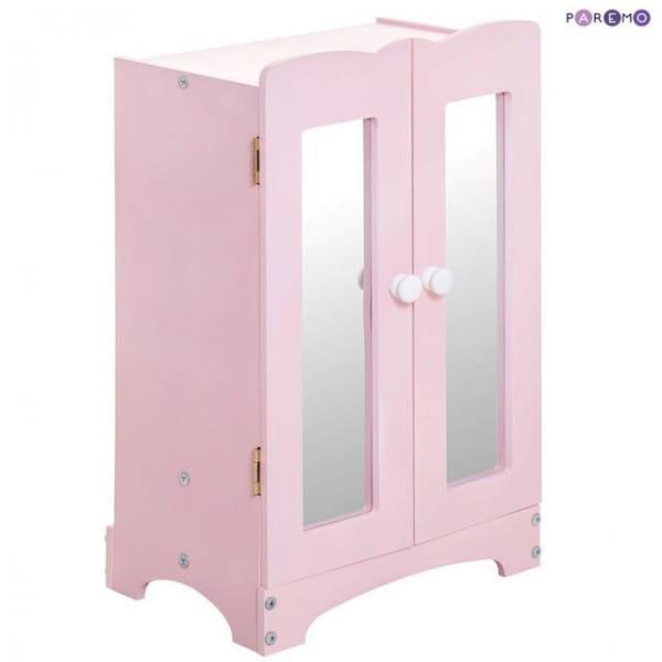 Купить Кукольный шкаф Paremo - розовый в интернет магазине игрушек и детских товаров