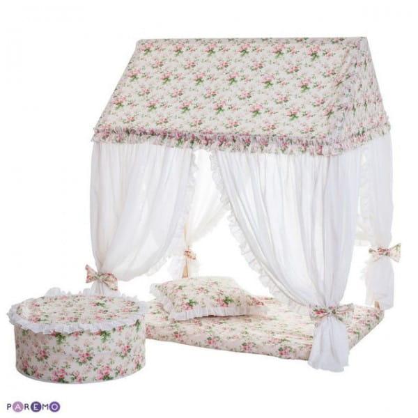 Купить Домик-палатка Paremo Дворец Шахерезады (с пуфиком) в интернет магазине игрушек и детских товаров