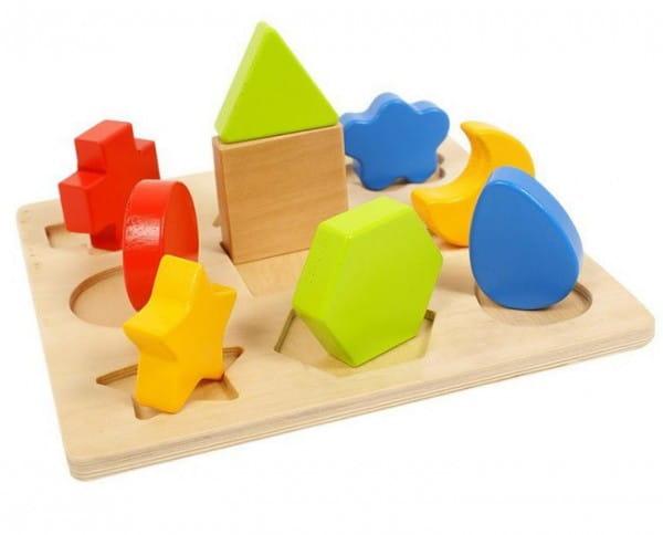 Деревянная игрушка сортер Vulpi-wood