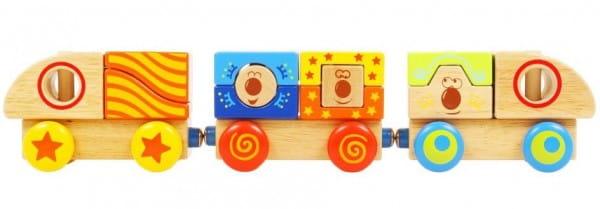 Деревянный конструктор Vulpi-wood Поезд