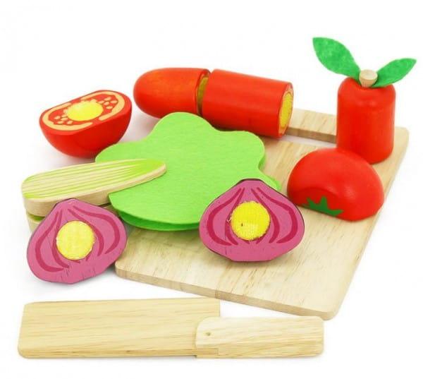 Деревянный игрушечный набор Vulpi-wood Овощи