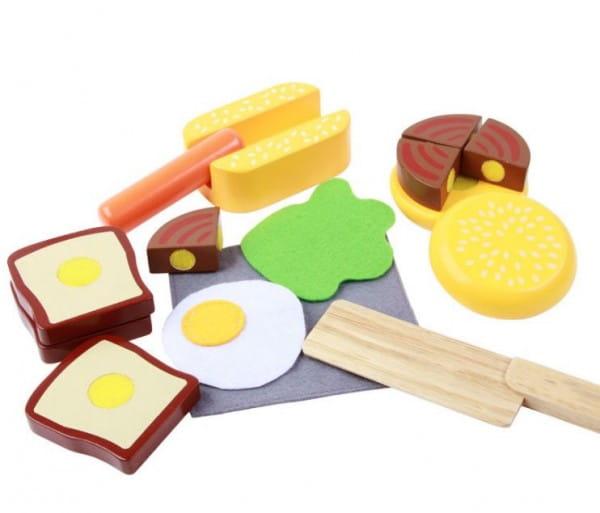 Деревянный игрушечный набор Vulpi-wood 17013 Завтрак