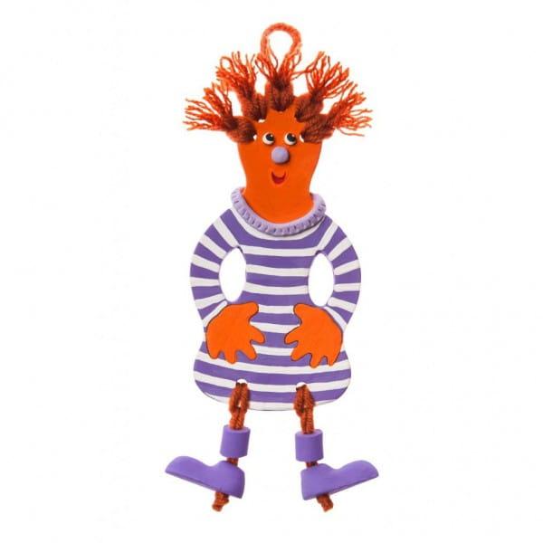 Набор для творчества Arti Г000678 Глиняный клоун Кэп