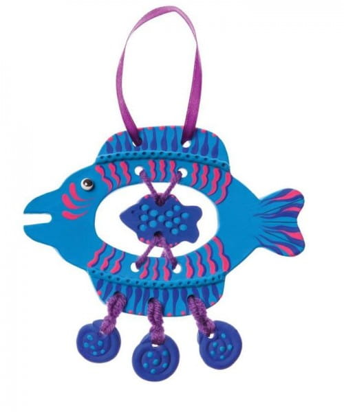 Набор для творчества Arti Г000679 Глиняная рыбка Анри