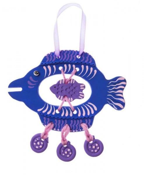 Набор для творчества Arti Г000680 Глиняная рыбка Ундина
