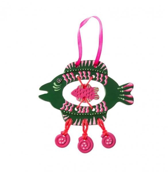 Набор для творчества Arti Г000681 Глиняная рыбка Сюзи