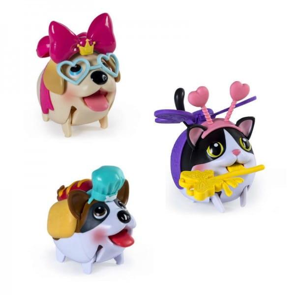 Игровой набор Chubby Puppies 56707 Собачки с сумкой-переноской (Spin Master)