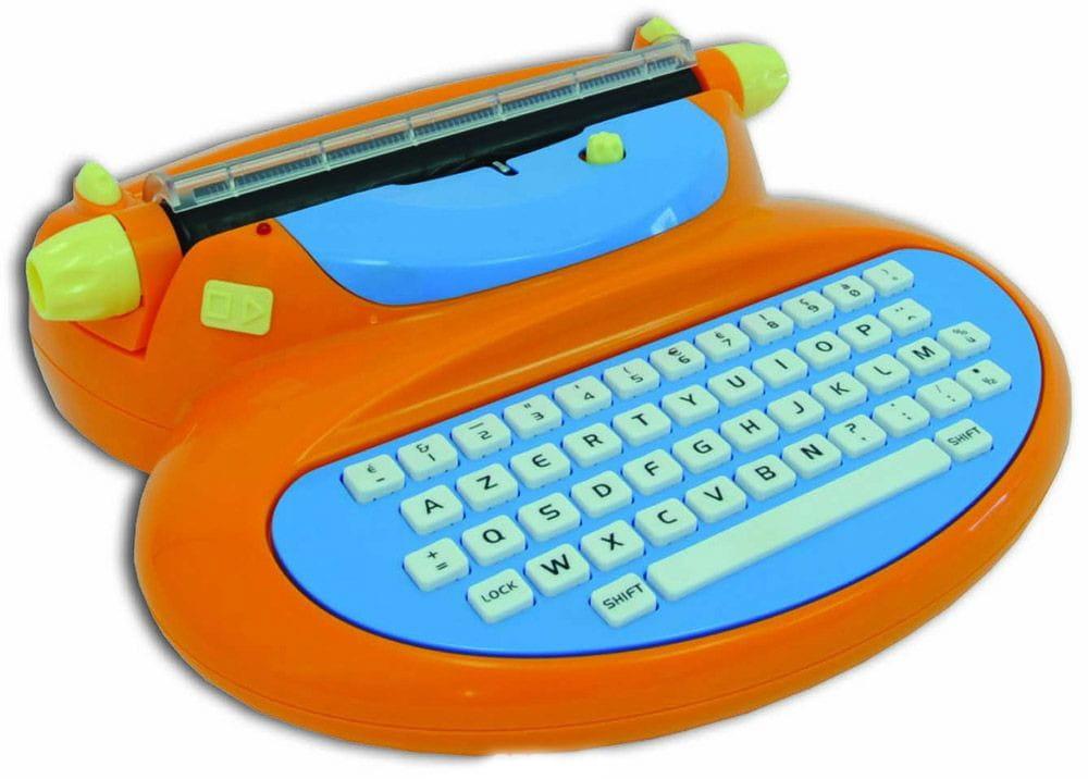 Детская электрическая печатная машинка Mehano Е118 (английский шрифт)