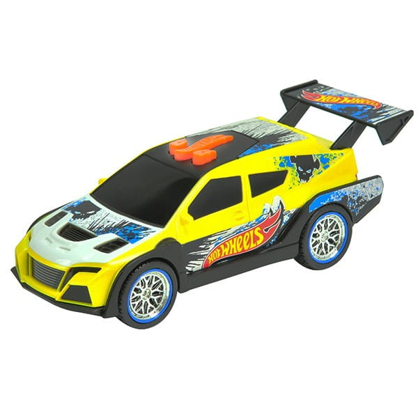 Машинка Hot Wheels Желтая - 14 см (Toy State)