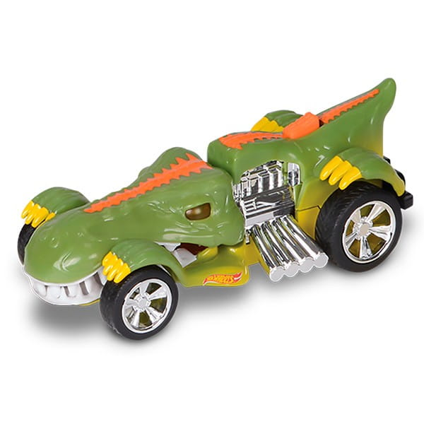 Машинка Hot Wheels Зеленый динозавр - 13,5 см (Toy State)