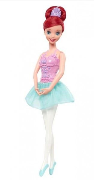 Купить Кукла Disney Princess Принцесса-балерина - Ариэль (Mattel) в интернет магазине игрушек и детских товаров