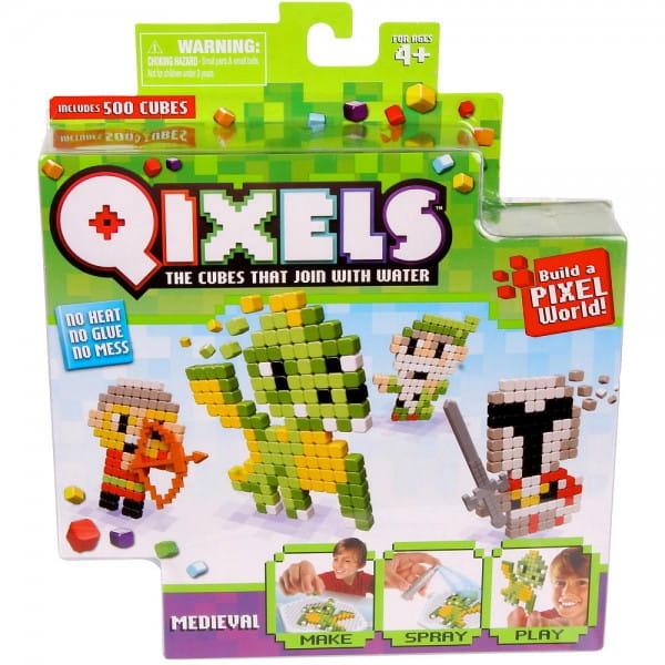 Купить Набор для творчества Qixels Средневековье в интернет магазине игрушек и детских товаров