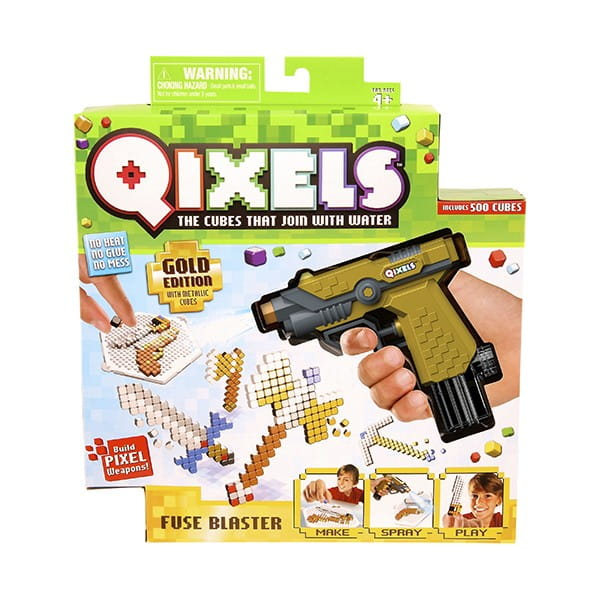 Купить Набор для творчества Qixels Водяной бластер в интернет магазине игрушек и детских товаров