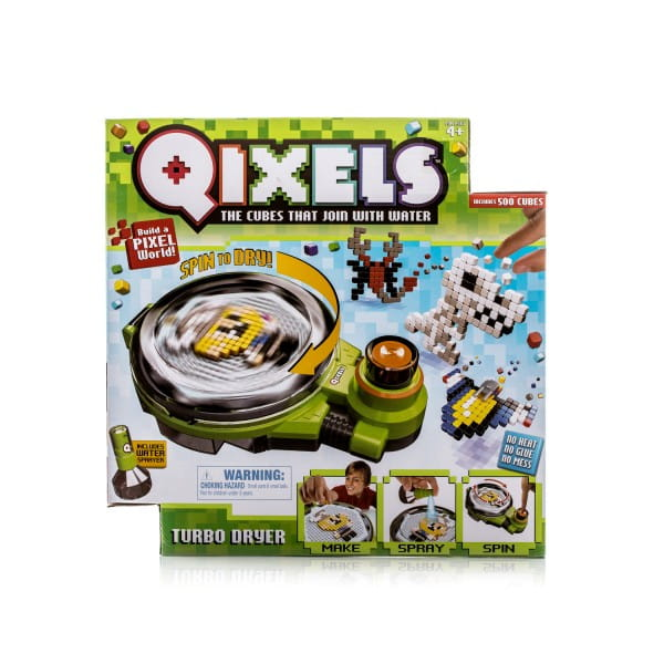 Купить Набор для творчества Qixels Турбо сушка в интернет магазине игрушек и детских товаров