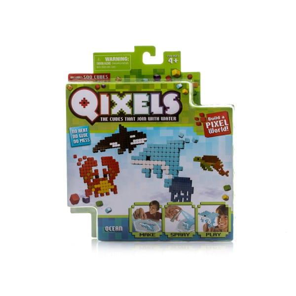 Купить Набор для творчества Qixels Океан в интернет магазине игрушек и детских товаров