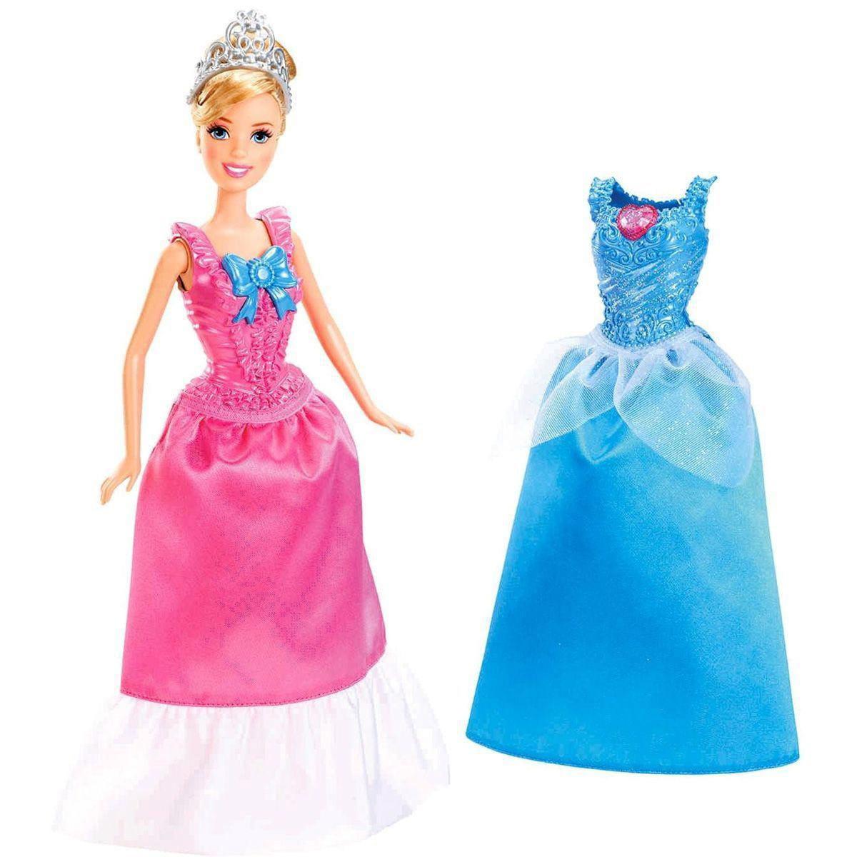 Кукла Disney Princess X9357/X9358 Золушка с дополнительным нарядом (Mattel)
